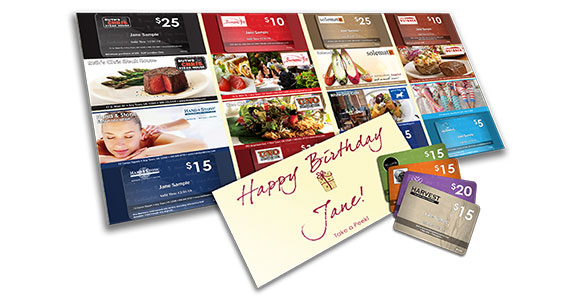 BirthdayPak sample